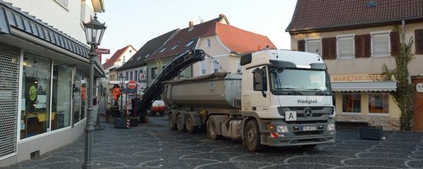 Ausbau der Langgasse in Gau-Algesheim